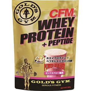 ゴールドジム(GOLD'S GYM) CFMホエイプロテイン ミックスベリー風味 900g