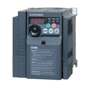 三菱電機 FR-D710W-0.75K インバータ 単相100V (三相モーター制御用)インバーター