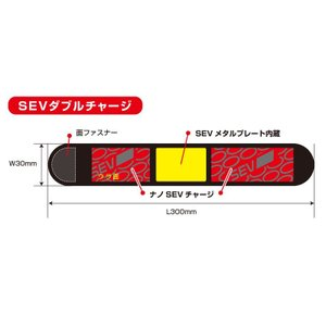 SEV HPベルト スポーツ 〜特許技術SEV搭載 手首・足首をサポート〜|sev|03