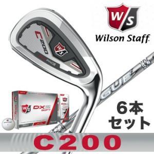 ウィルソン C200 アイアン6本セット Aldila Ro...