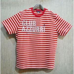 ラウラフェリーチェ Laura felice 半袖 Tシャツ 赤 46(Mサイズ) メンズ服 春夏 セール50%OFF 日本製 120-5504-R4|sevenebisu-net