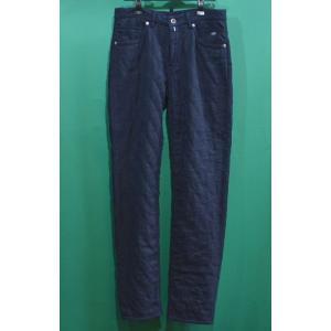 ラウラフェリーチェ 暖かキルトパンツ メンズ服 ネイビー セール35%OFF 日本製 127-2010b6|sevenebisu-net