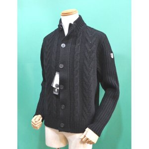 ラウラフェリーチェ セーター 前開き 黒 メンズ服 秋冬 セール40%OFF 223-7071 日本製|sevenebisu-net