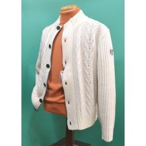 ラウラフェリーチェ セーター 前開き 白 46(M)サイズ メンズ服 秋冬 セール40%OFF 223-7071 日本製|sevenebisu-net