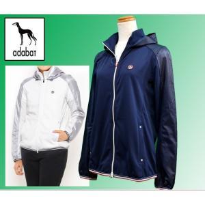 (セール20%OFF) アダバット adabat レディース 薄手 ブルゾン アウター ゴルフウェア AL43900|sevenebisu-net