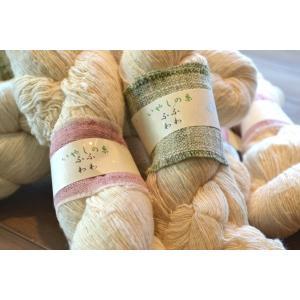 いやしの糸・ふわふわ 甘よりの空気を含んだ糸 1カセ60g|sevenebisu-net