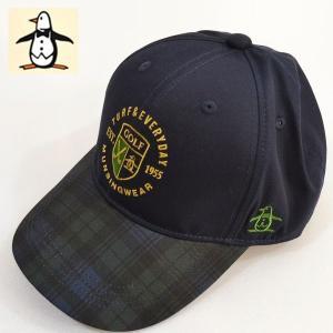 マンシングウェア メンズ 帽子 キャップ ゴルフ 2018秋冬新作 MGBMJC03|sevenebisu-net