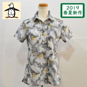 新作セール20%OFF マンシングウェア レディース ポロシャツ 2018春夏 ゴルフウェア 紺白ボーダー MGWLJA14|sevenebisu-net