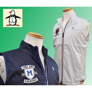 マンシングウェア メンズ ベスト 裏地メッシュ 2018春夏新作 ゴルフウェア MGMLJK50|sevenebisu-net