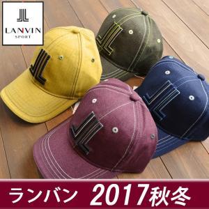 ランバン スポール メンズ 帽子 キャップ ゴルフウェア 2017秋冬 新作 VMK0303A3|sevenebisu-net