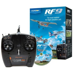 HORIZON RealFlight RF9 Flight Simulator w/Spektrum Controller RFL1100|sevenle7