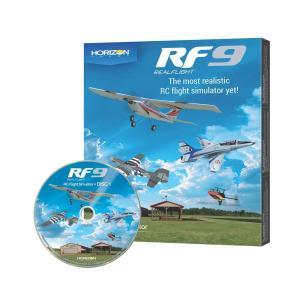 MALTA★リアルフライト9 ソフトウエア単品(DVD) HORIZON版 RCフライトシミュレーター Real Flight 9 Horizon Hobby Edition / RF9 SO|sevenle7