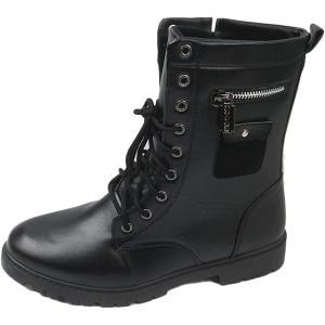 カジュアル ワーク エンジニア ライダース レーザーブレード メンズ ブーツ ブラック 41(ブラック 41, 25.0 cm)|sevenleaf