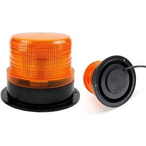 回転灯 非常灯 作業灯 警告灯 緊急灯 車 12v 24v 兼用 led フラッシュ 非常信号灯(黄)|sevenleaf