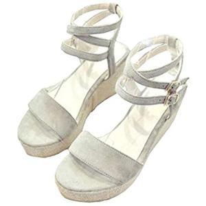 サンダル さんだる 靴 レディース レデイース レディス 女 女性 女子 女の子 ガール ガールズ women 春(グレー, 24.5 cm)|sevenleaf