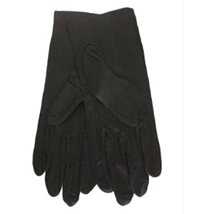 シルク手袋 昼用 外出用手袋 UVカット 日焼け防止 紫外線防止 絹手袋 レディース(ブラック)