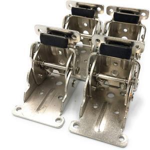 折れ脚金具 折りたたみテーブル用脚 DIY 4枚セット