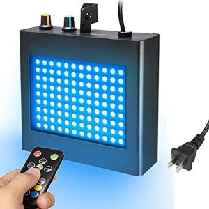 ディスコライト ストロボ ステージライト 舞台照明 ミニレーザーステージ照明 108 RGB[SOLMOREEmo24ko147](アメリカ規格) sevenleaf