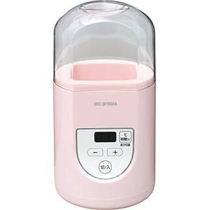ヨーグルトメーカー プレミアム 温度調節機能付き[IYM-012](ピンク)