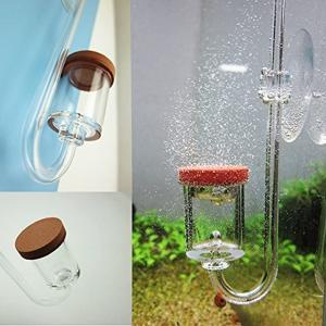 CO2ディフューザー CO2拡散器 水草水槽 バブルカウントディフューザー水草飼育 二酸化炭素添加(...