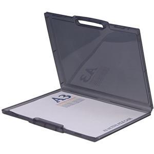 書類収納 A3アクティブファイルケース35型[4303S](スモーク)|sevenleaf