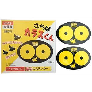 北海道環境バイオセクター 魔法のステッカー 2枚入り[ks001](黄色)