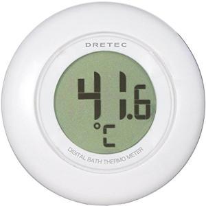 ドリテック デジタル湯温計 ホワイト[O-227WT]