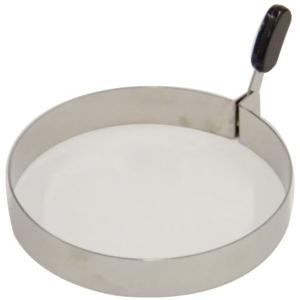 ・直径11.5cmのリング型  ・目玉焼きを形良く作るだけでなく、ホットケーキやハンバーグなどにも ...