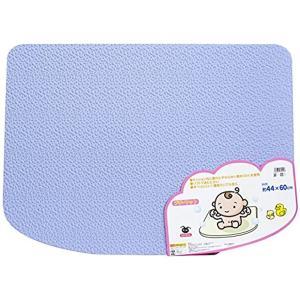 EVA樹脂製 ソフトタイプ 風呂マット ブルー(プチマット)