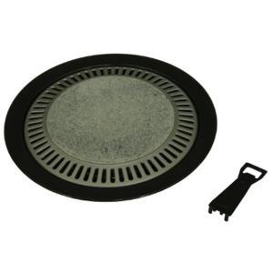 ストーン丸型 焼肉グリル 33cm[2933]|sevenleaf