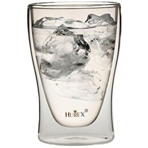 Hurex 耐熱ダブルウォールグラス 220ml 4個セット[HU-M6157*4]