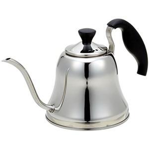 パール金属・適量のお湯を細く、静かに注げるドリップコーヒー対応のスリムな注ぎ口  ・注ぐ時に安定感が...