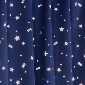 1級遮光カーテン プラネット 幅150cm×丈178cm 1枚入[遮光カーテン](ネイビーブルー, 幅150cm×丈178cm 1枚入)|sevenleaf