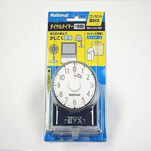 ダイヤルタイマー 11時間形 純正パッケージ品 WH3101BP(ブラック)|sevenleaf