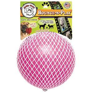 パンク知らずで丈夫。バウンスンプレイボール Bounce-n-Play S[788169254570](ピンク, S(11.4cm))|sevenleaf