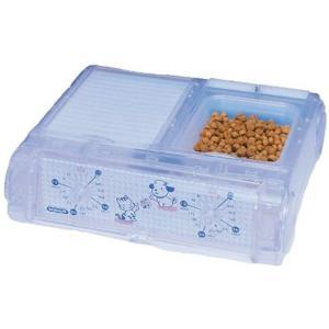 わんにゃんぐるめ 自動給餌器48時間2食分タイマー1食165gセットクリア CD-400[CD-40...