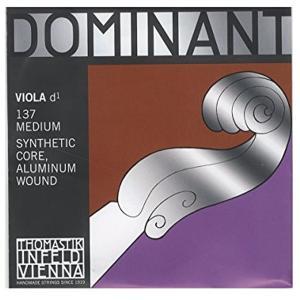 Dominant No.137 ビオラ弦 ペルロン/アルミ巻 D線[137](シルバー) sevenleaf