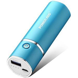 Slim2 5000mAhモバイル・バッテリー 2.1A急速充電 小型 PSE認証済 Phone/i(ブルー)|sevenleaf