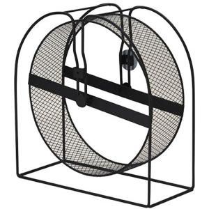 回転軸部にベアリングシステムを採用した耐久性と静かさを兼ね備えたメタル製ホイール ホイール径がゆった...