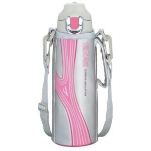 (サーモス 真空断熱 スポーツボトル 0.8L ピンク FFF-800F P)は、真空断熱耕造の保冷...