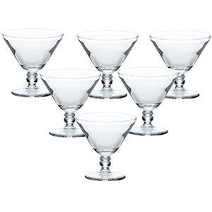 デザートカップ ミニステム 85ml×6個セット[SQ-05201]