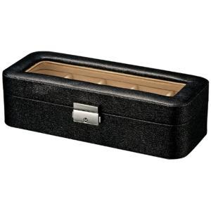 ジュエリー収納(ブラック・WC-02512, W24.5×H7×D10cm)|sevenleaf
