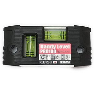 安価な価格にも関わらずプロ用の日本製水平器です。  製造元は水平器メーカーエビス。 磁石付き 100...