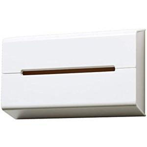 壁にペタッと取り付けてティッシュの新しい収納スペースを作ることができる、ideaco(イデアコ)ティ...