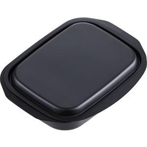 グリル活用角型パン17×22cm ランチーニ[LR-7752](鉄 ブラック, 角型)