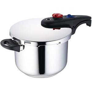 NULL 本体サイズ:約40×22.7×20.5cm 本体重量:約1900g 圧力鍋とは:圧力により...