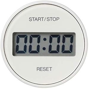 液晶表示が大きく、視認性の高いキッチンタイマーです。 ダイヤルを回転させて簡単に時間設定が可能です。...