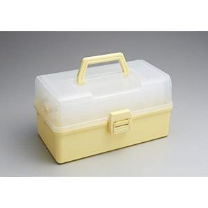 TOYO 樹脂製 3段式ツールボックス HP-320[HP-320LI](レモネードアイボリー)|sevenleaf