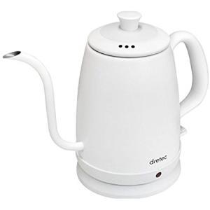 忙しいときでもスイッチを入れるだけでサッとお湯が沸かせて便利 コーヒー1杯(140cc)に必要なお湯...