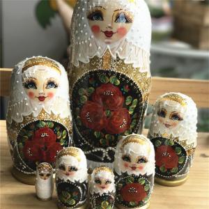 可愛いロシア特性ある手作り人形です。 最高の子供誕生日プレゼントです。 装飾品としてもキレイ!   ...